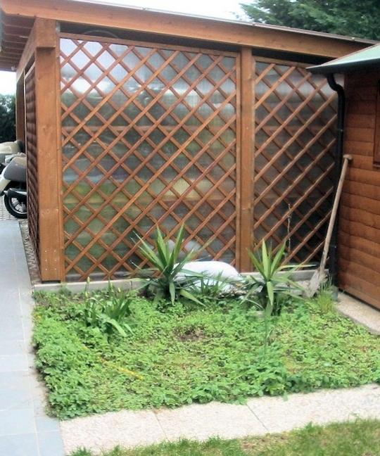 Grigliati In Plastica Per Giardino.Grigliati E Frangivista Terrazzi Giardini Foggia